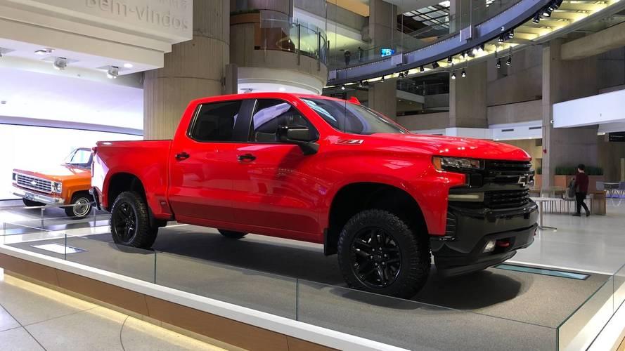 Nouveau Chevrolet Silverado 2018