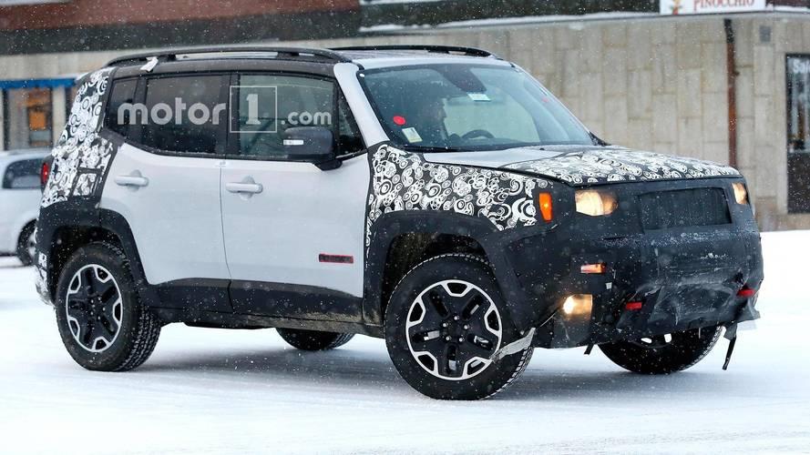 Photos espion - Jeep prépare le Renegade restylé