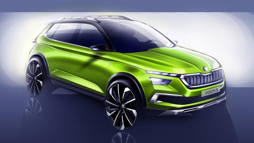 Skoda Vision X Concept, il crossover ibrido a Ginevra