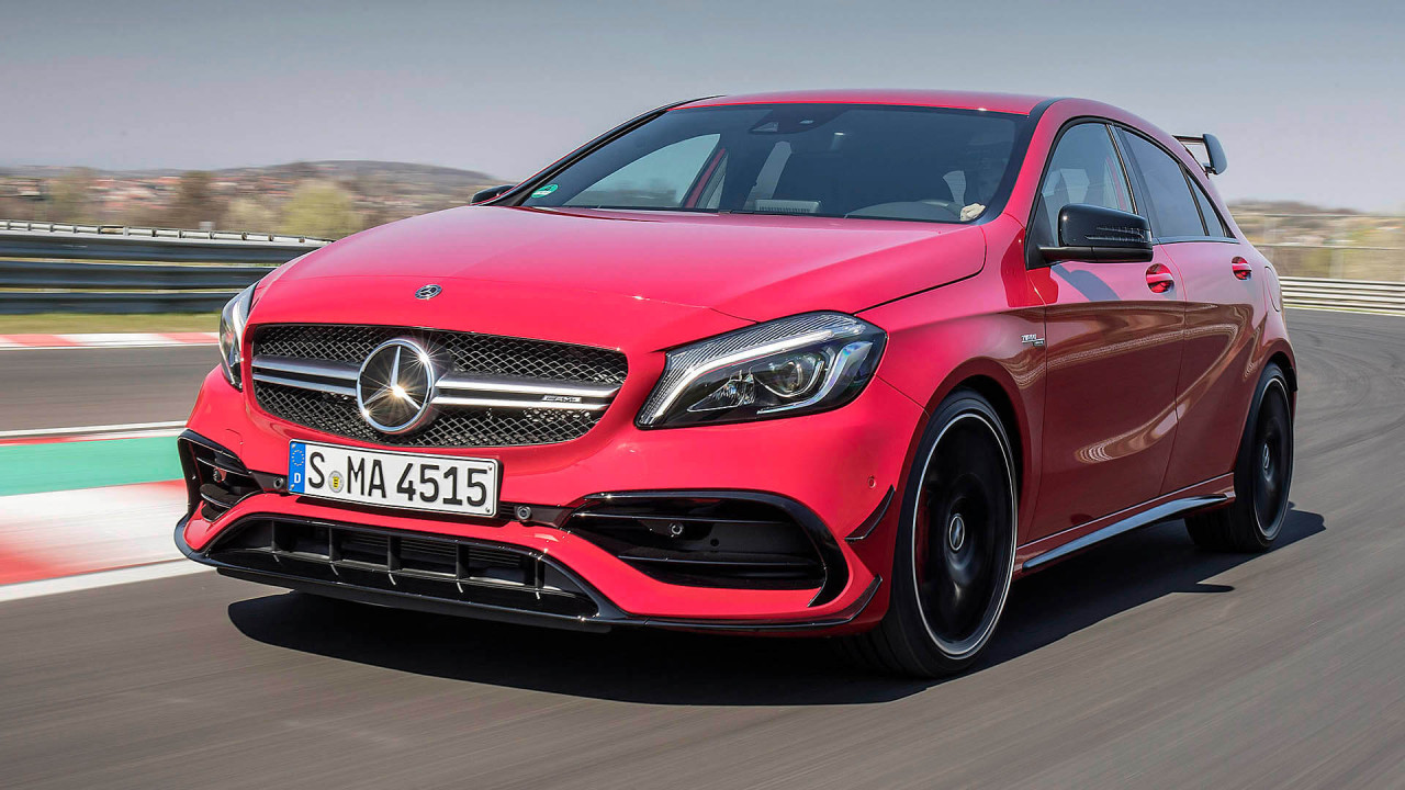 Mercedes A-Klasse: Der Donnerbolzen