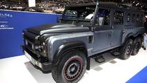 Chelsea Truck Company Flying Huntsman 6x6 Civilian Carrier: Geneva 2018