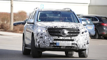 Mercedes-Benz GLS (GL facelift) spied testing in Germany