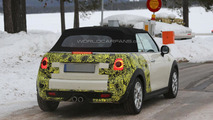 2015 MINI Cooper Cabrio spy photo