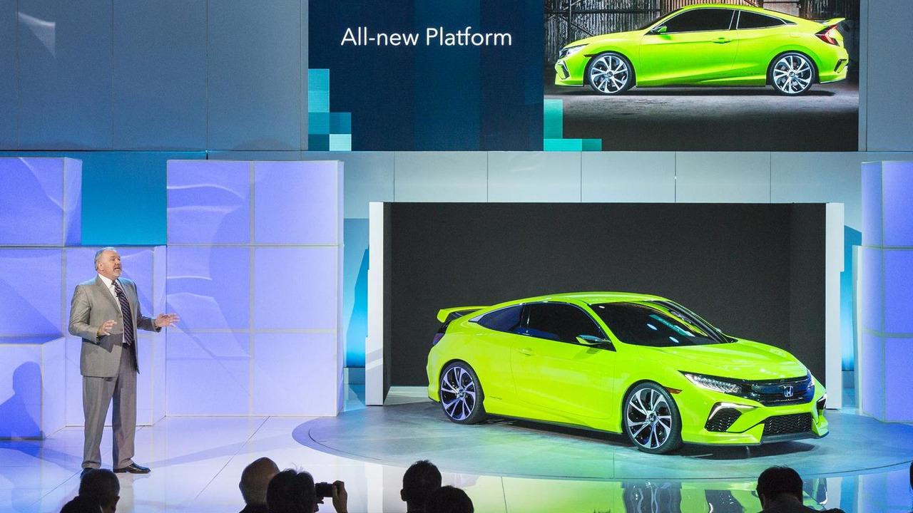 Honda Civic Concept at 2015 New York Auto Show