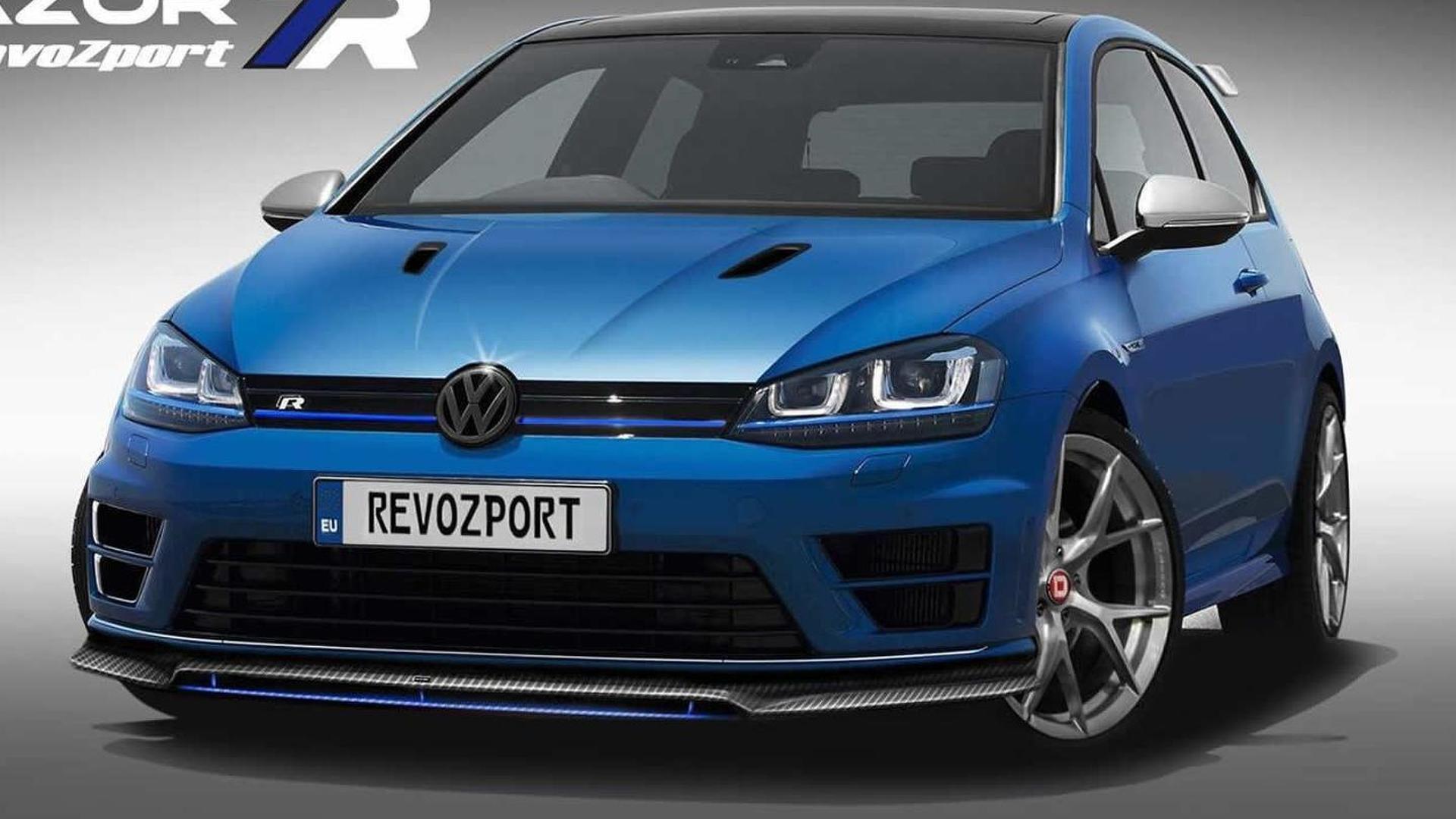 Тюнинг Volkswagen Golf R. Обвес от RevoZport