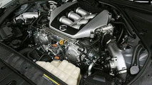 The 3.8l twinturbo V6 gives the GT-R 473 horsepower