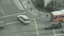 High speed police pursuit