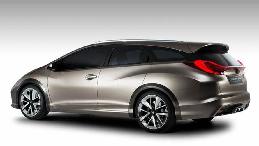 Honda Civic Tourer concept revealed ahead of Geneva debut
