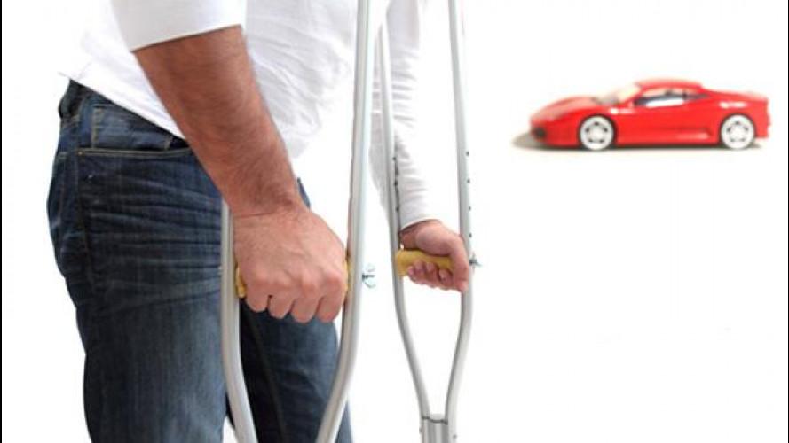 Lesioni fisiche: le Vittime della strada al contrattacco