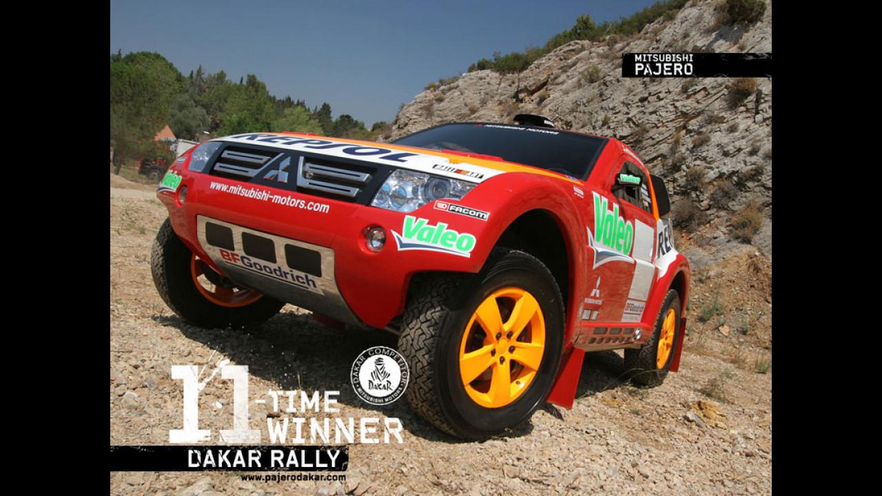 Dakar 2007: vince Peterhansel con la Mitsubishi Pajero