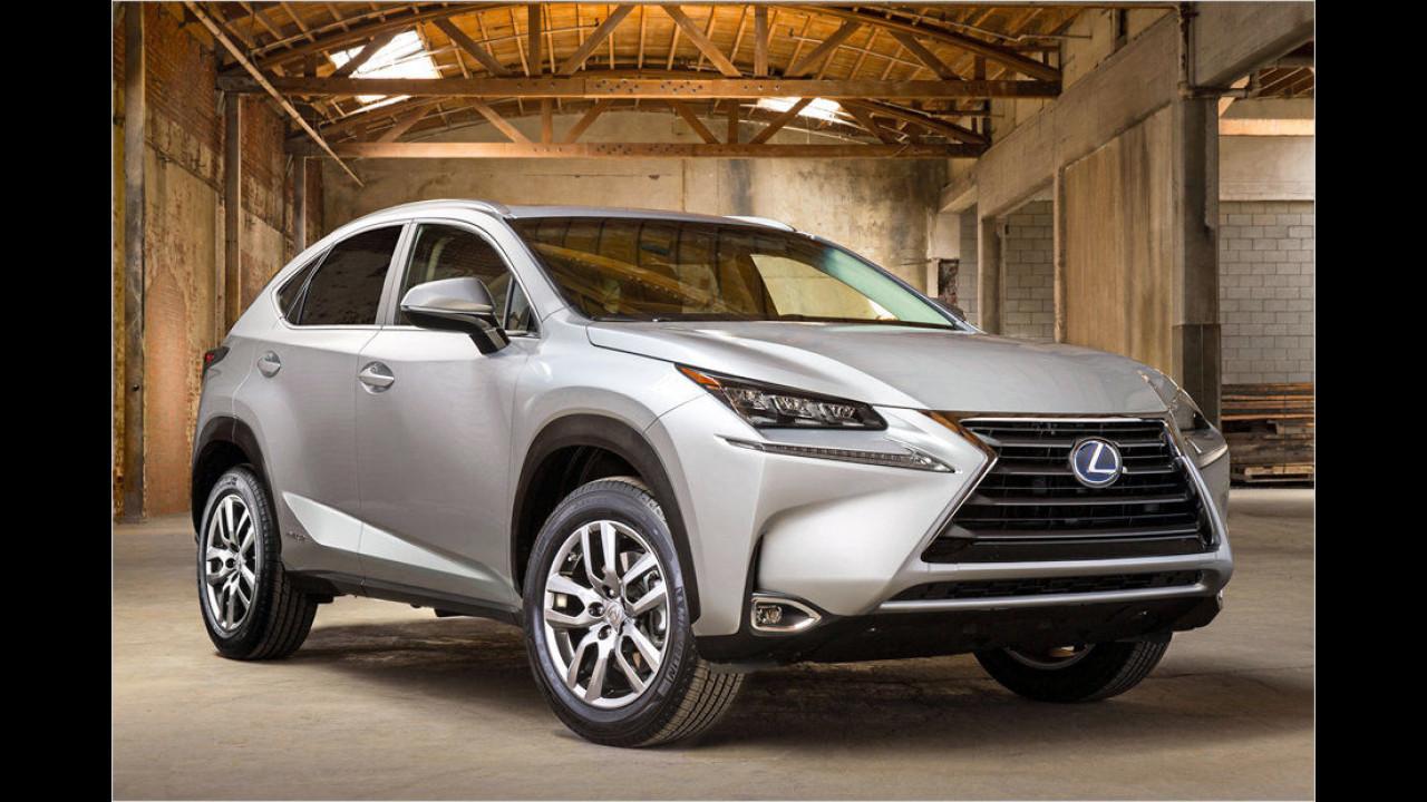 Die Wachstumsmarken, Platz 3: Lexus