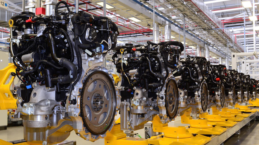 Jaguar Kicks Off Production Of New Four-Cylinder Engines