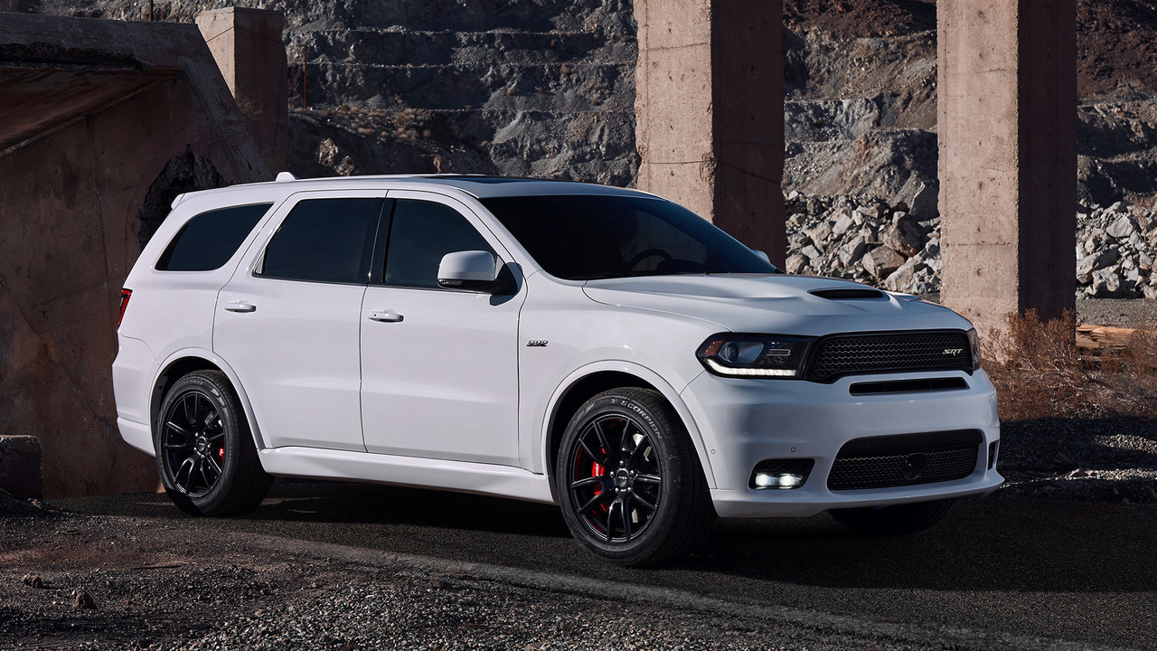 2018 dodge durango srt is your 12 second family crossover. Black Bedroom Furniture Sets. Home Design Ideas