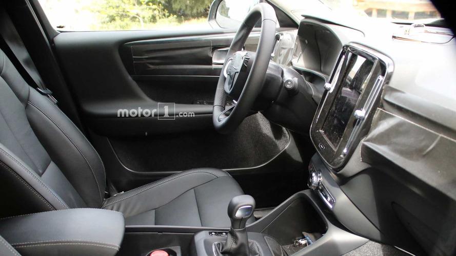 Volvo XC40 2018 - Flagra do interior