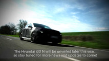 2018 Hyundai i30 N screenshot from teaser video