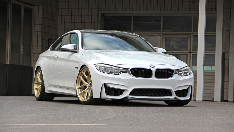 Tuner Applies Rare BMW CRT Formula To Subdued M4 Coupe