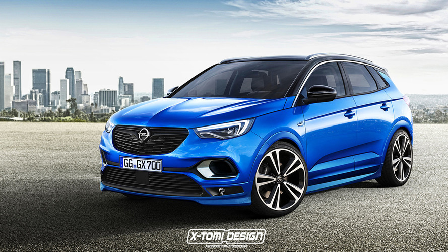 Opel Grandland X Looks Hot With OPC Treatment