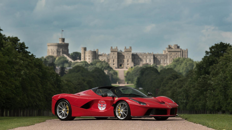 Ferrari LaFerrari Aperta Embarks On U.K. Tour This Summer