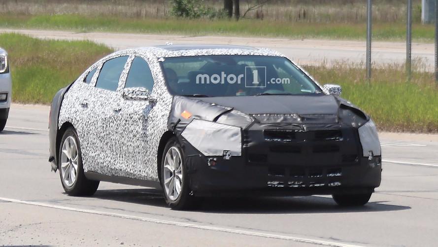 2019 Chevy Malibu Spy Shots