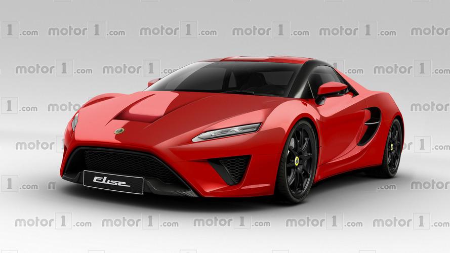 2020 Lotus Elise tasarım yorumu geleceğe bir bakış sunuyor