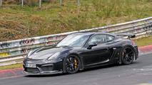 Porsche 718 Cayman GT4 fotos espía