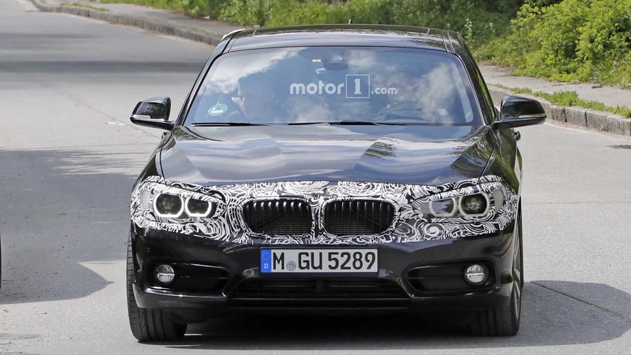 2018 BMW 1 Series facelift new spy photos