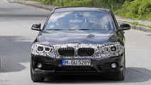 2018 BMW 1 Series facelift new spy photos