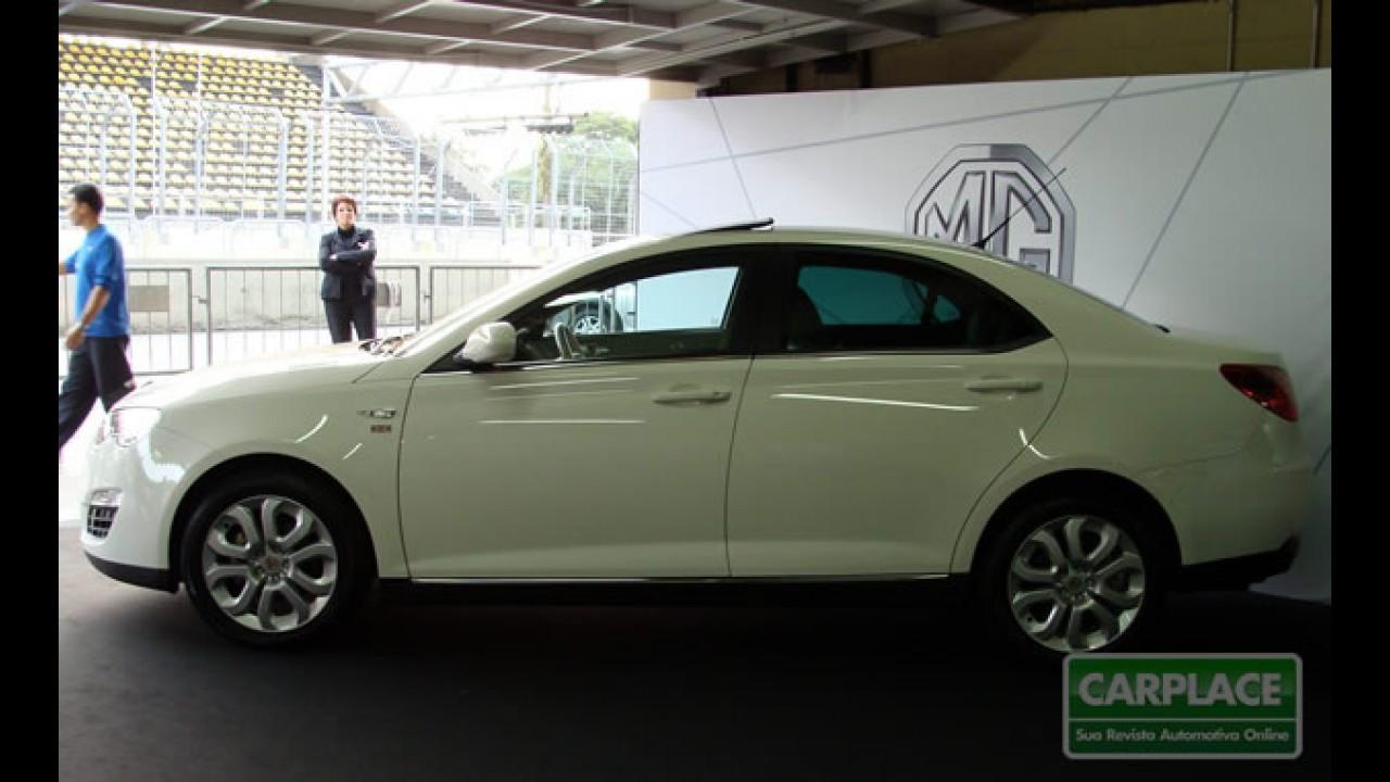 """QRX 2010: Importador apresenta o """"inglês made in China"""" MG 550 em Interlagos"""