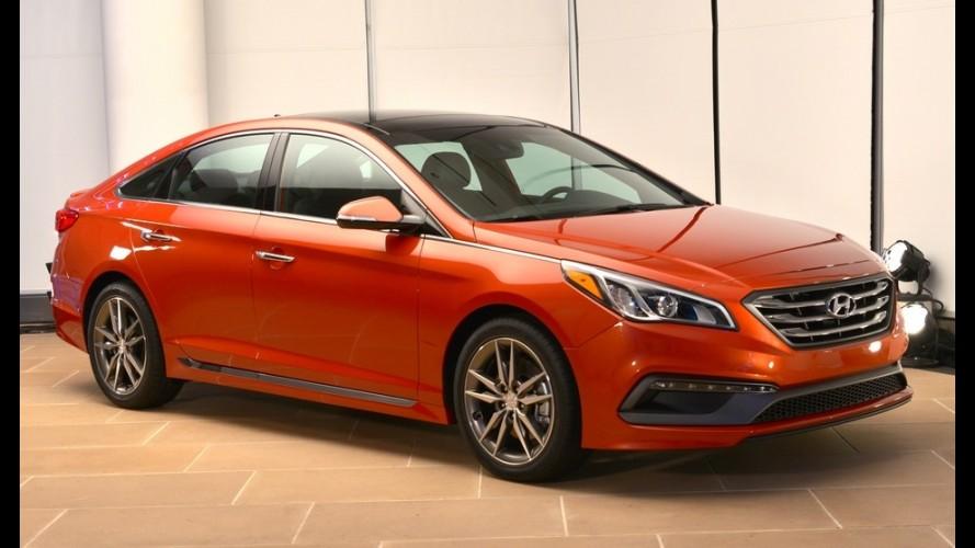 Hyundai lança novo Sonata 2015 nos EUA pelo equivalente a R$ 46.800