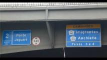 Caminhoneiros que obedeciam sinalização em SP foram multados por radar - CET não irá cancelar multas