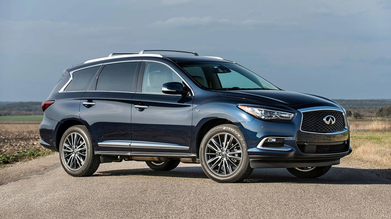 5. Midsize Luxury SUV/Crossover: Infiniti QX60