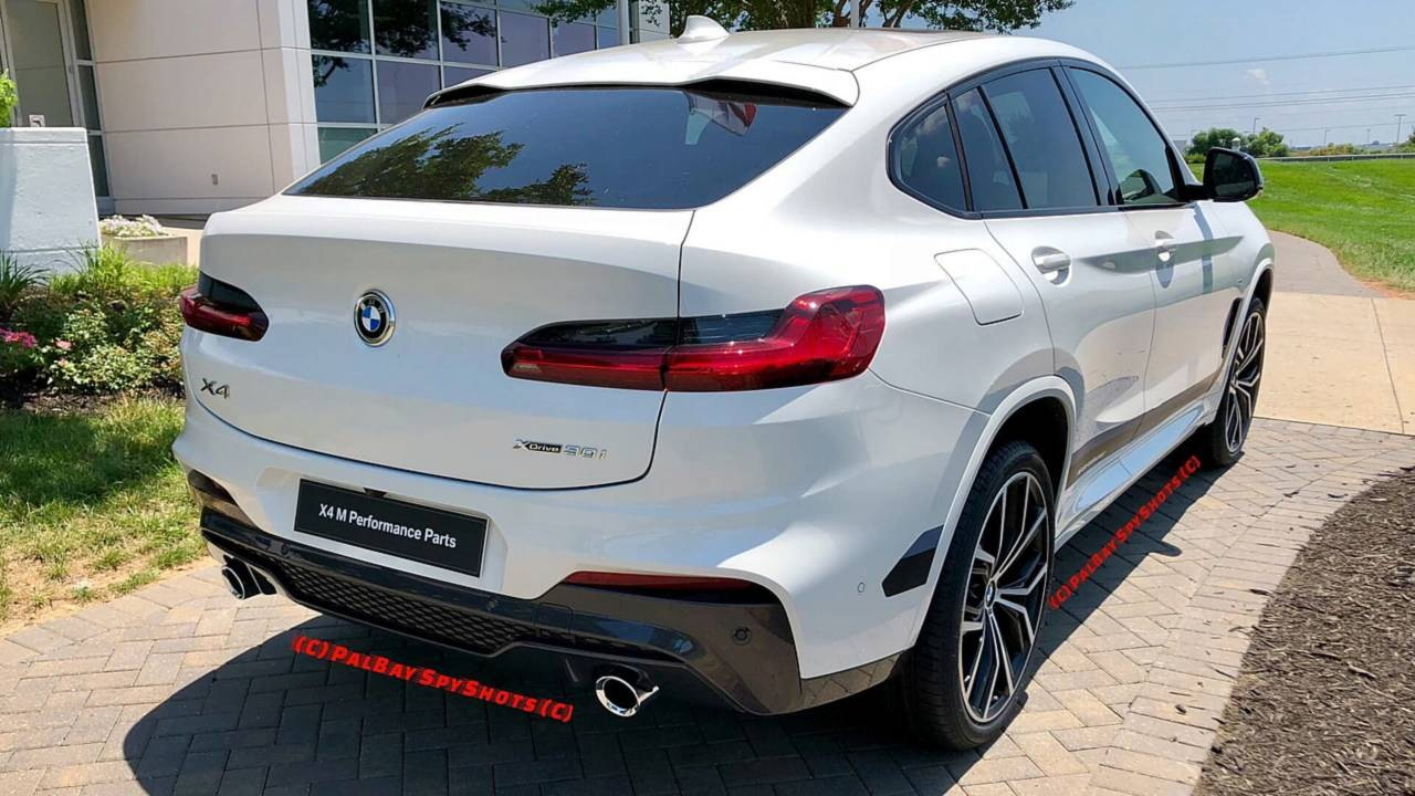 2019 bmw x4 with m performance parts photos. Black Bedroom Furniture Sets. Home Design Ideas