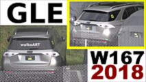 2019 Mercedes GLE with almost no camo spy photo