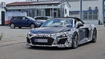 2019 Audi R8 Spyder Casus Fotoğrafları