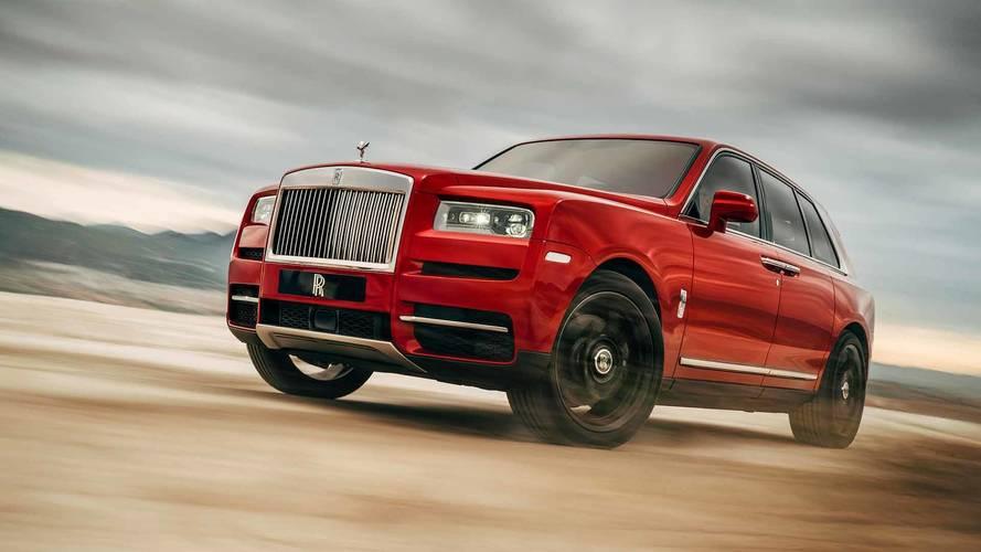 Rolls Royce'un lüks SUV'si Cullinan ortaya çıktı