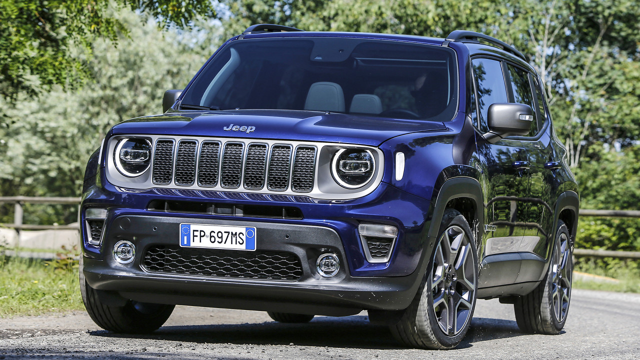 Jeep Renegade facelift first look