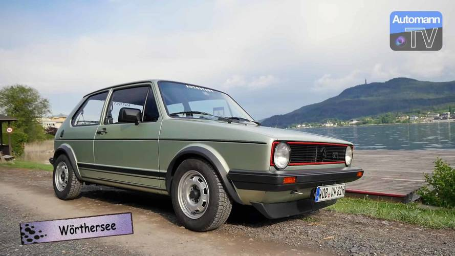 Hop Inside An Original VW Golf GTI And Go For A Virtual Drive