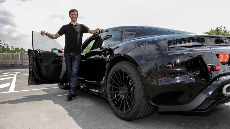 Mark Webber a découvert la Porsche Mission E