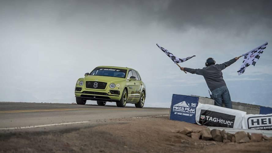 Pikes Peak, Bentley Bentayga il SUV più veloce
