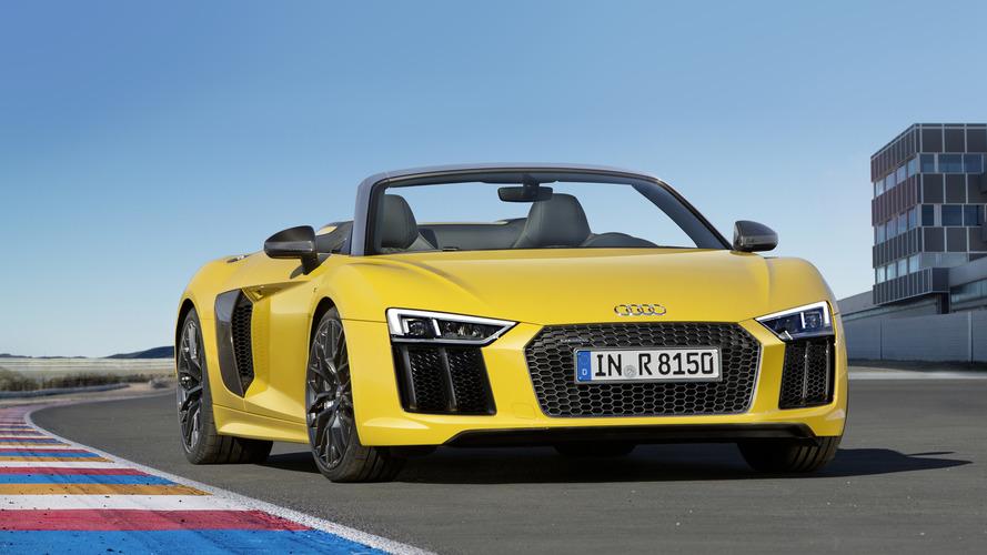 Audi présente le nouveau R8 Spyder, 318 km/h cheveux au vent