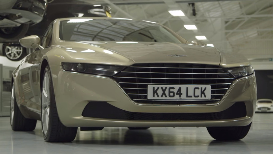 Motor Trend checks out million-dollar Lagonda Taraf