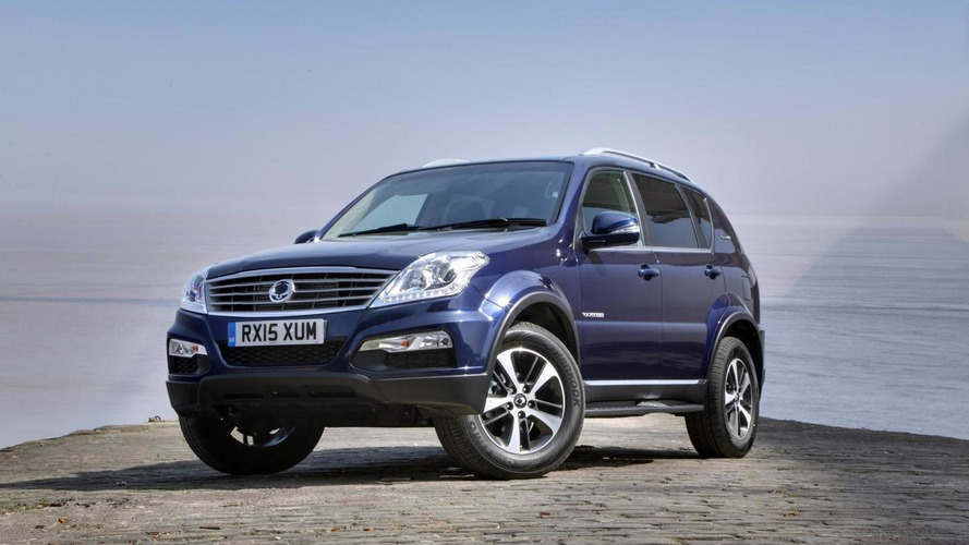 SsangYong adds new range-topping Rexton W model