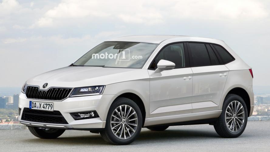 2017 Skoda Yeti envisioned with VW Tiguan genes