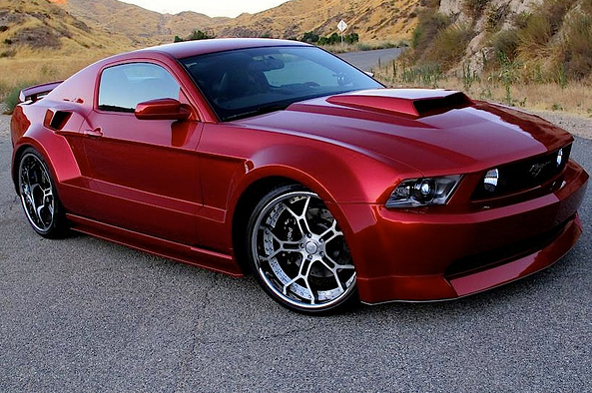 Most Popular: 2012 Ford Mustang GT Custom SPX/ Galpin Widebody