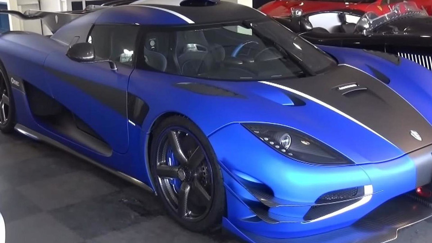 Koenigsegg One:1 walkaround video recorded just before delivery