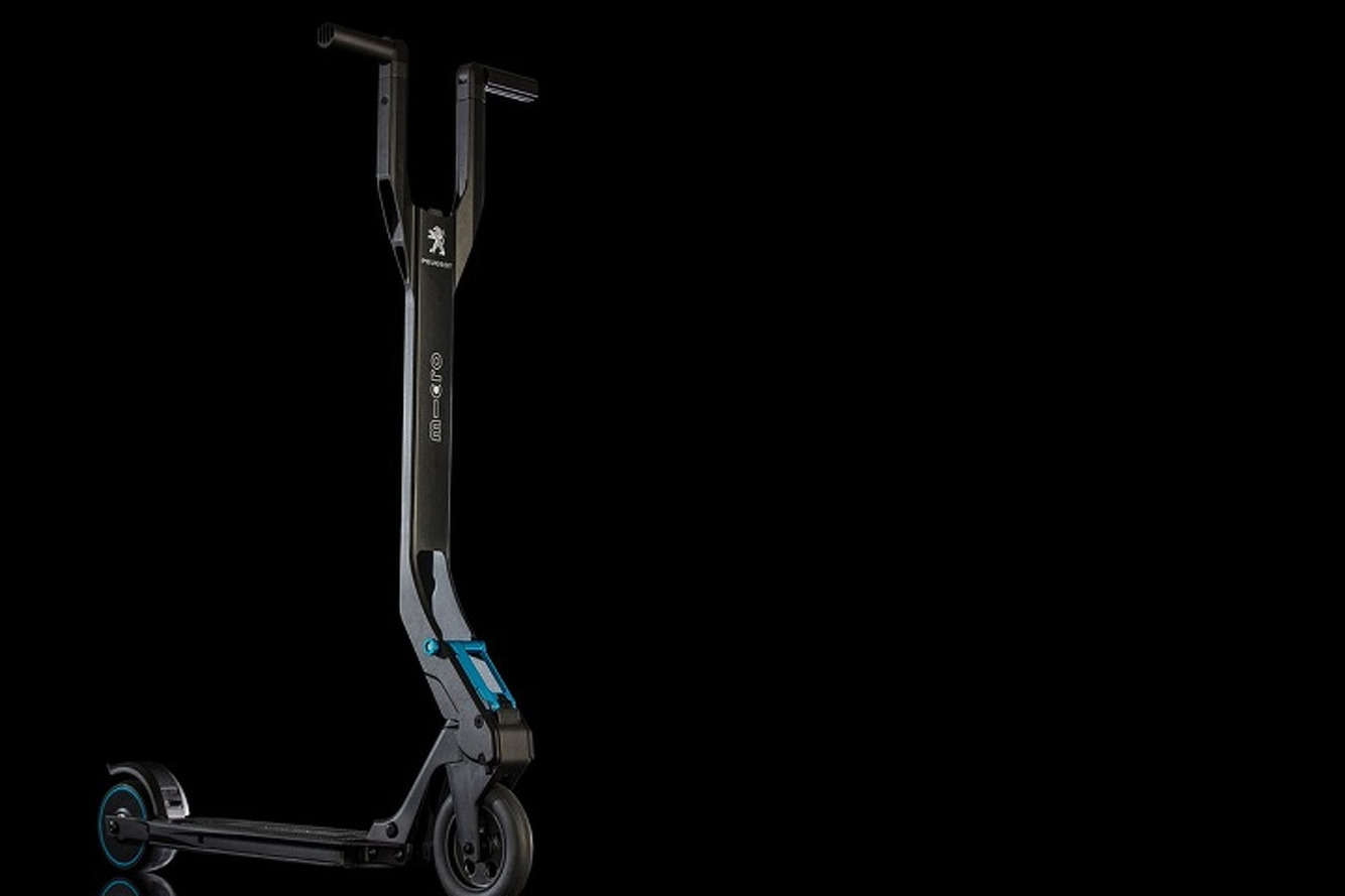 Peugeot is Building a Nifty Little Electric Scooter