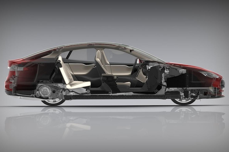 тесла автомобиль модель s #11
