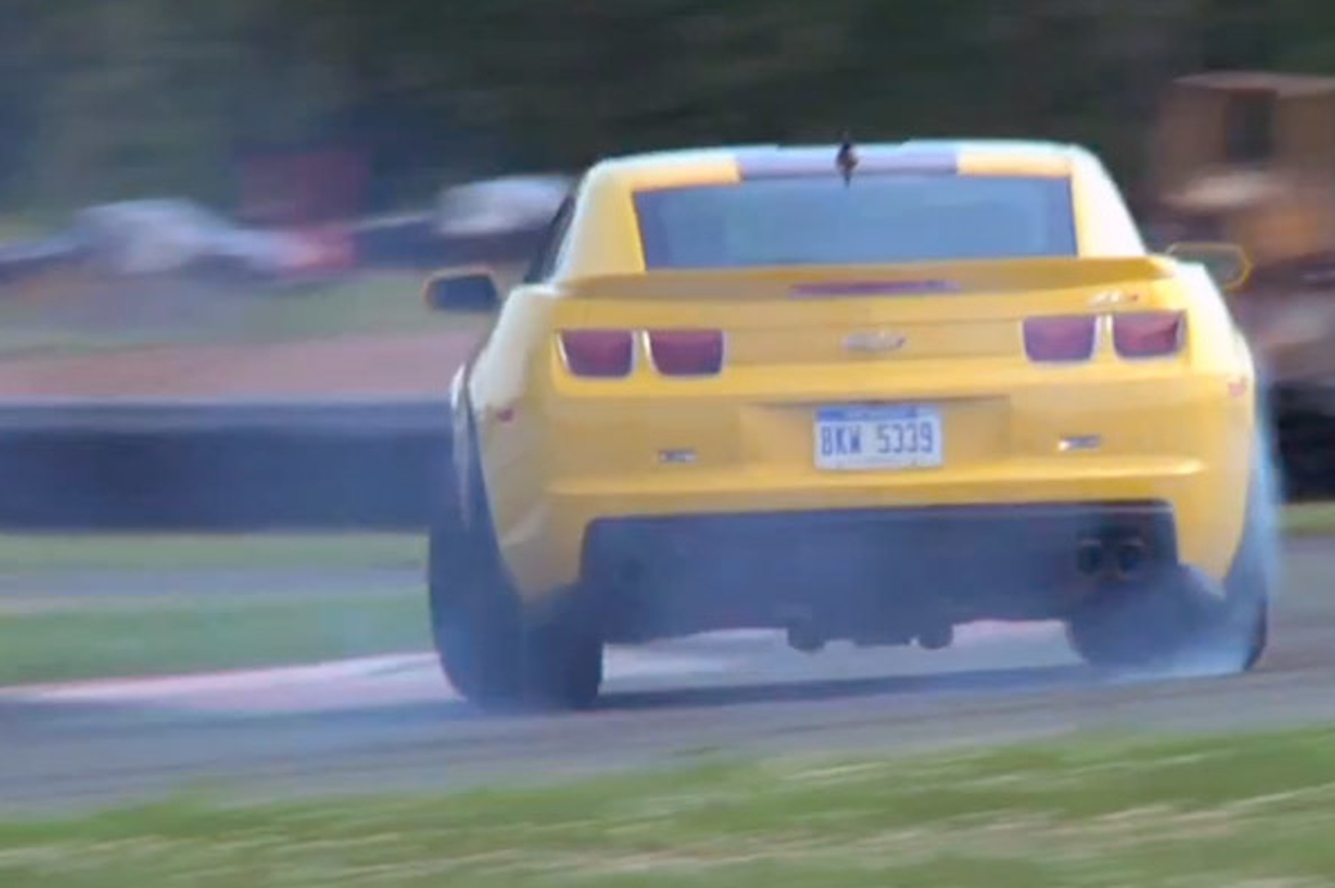 Video: Chris Harris Flogs Some Muscle Cars in NYC