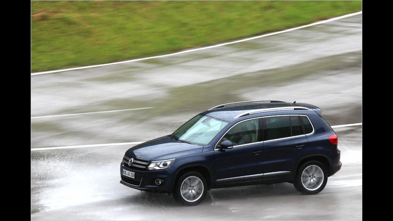 SUVs und Geländewagen, Platz 1: VW Tiguan (13.634 Stück)