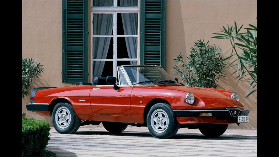 83er Alfa-Ikone wird Oldtimer